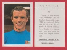 Ipswich Town Tommy Carroll Eire 78